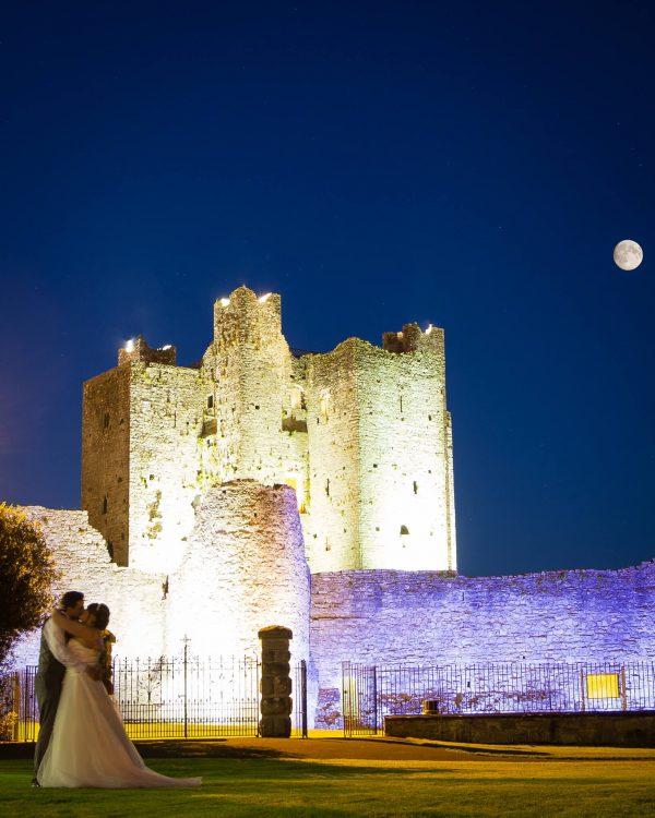 Trim Castle Wedding Photographer 2